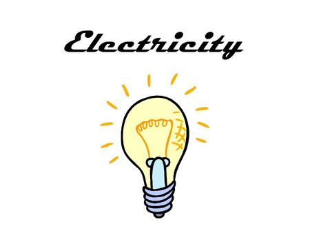 Electricity Everything in the world is made up of atoms. Each atom has smaller parts in it. One of those parts is called electrons. Electrons can move.