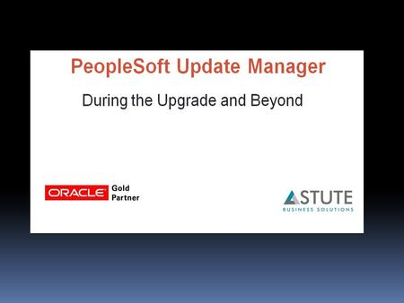 Founded by Big Five Consulting ex-employees Oracle Gold Partner Focus on PeopleSoft 15 years of PeopleSoft experience Worked in both technical and functional.