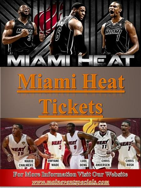 1. Page - 02 Miami Heat Schedule 2016Page -03 Miami Heat GamePage - 04 Miami Heat Playoff TicketsPage - 05 Seasons and ScoresPage - 06 Photo GalleryPage.