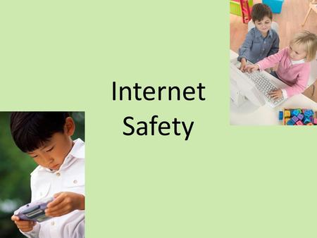 Internet Safety. Online Concerns: Contact Content Conduct.