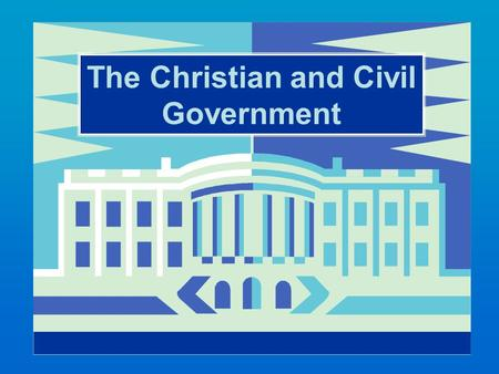 The Christian and Civil Government. The transformed disciple recognizes the authority behind civil government. Insight into the transformed life..