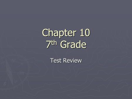 Chapter 10 7 th Grade Test Review. Question 1 What does an antibiotic do? A. It treats bacterial and fungal infections. B. It treats viral infections.