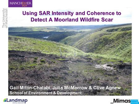 Using SAR Intensity and Coherence to Detect A Moorland Wildfire Scar.