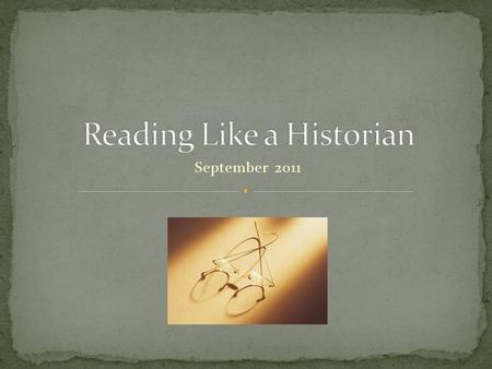 September 2011. A historian is a person who studies and writes about history, and is regarded as an authority on the subject.