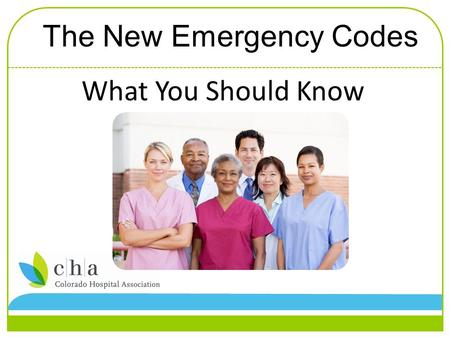 "What You Should Know The New Emergency Codes. What is changing with emergency codes? Emergency codes are being changed to incorporate use of ""plain-language."""