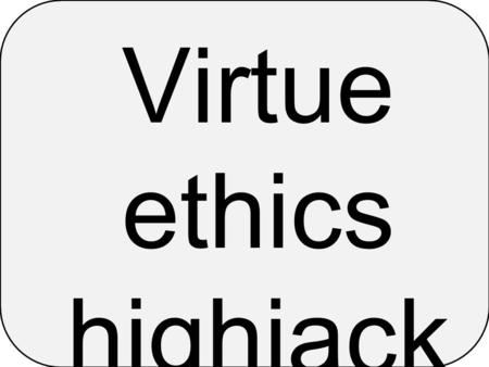 Virtue ethics highjack ed. During the 13 th Century Aquinas was introduced to the writings of Aristotle. Through his Christian writings four of Aristotle's.