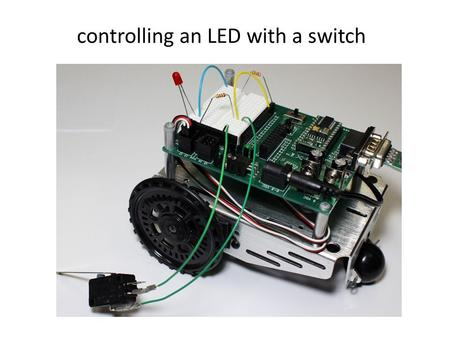 Controlling an LED with a switch. 2 breadboard place where you can build electric circuits really quickly the magical breadboard.