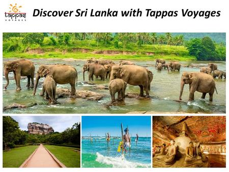 Discover Sri Lanka with Tappas Voyages. Touristic Map of Sri Lanka.