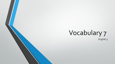 Vocabulary 7 English 3. perjury - noun The act of swearing under oath to the truth of something that one knows to be untrue A defendant in a murder trial.