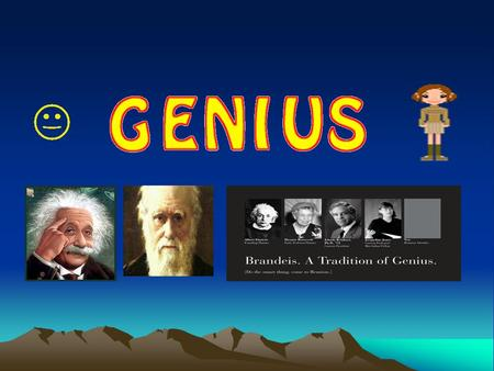 When did they do their best work? Charles Darwin Albert Einstein Paul A. M. Dirac James Dewey Watson Nobel prize winners 22 26 31 25 30,35.