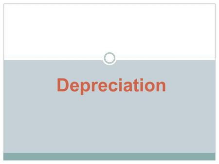 Depreciation. Nature of Depreciation Fixed Assets for a business are expected to be used up in the course of time. Thus depreciating in value.depreciating.
