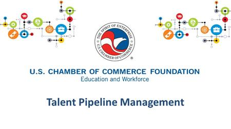 Talent Pipeline Management. Goals 1. Introduce USCCF and our work focused on closing the skills 2. Familiarize you with the tools, resources, and supports.