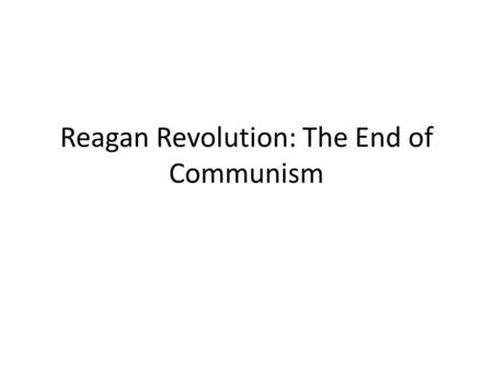 A Critical Analysis of the Communist Manifesto