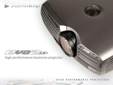 Small enough to be portable. Powerful enough to be installed. Compatible with anything you connect it to. The first do-it-all business projector is here.