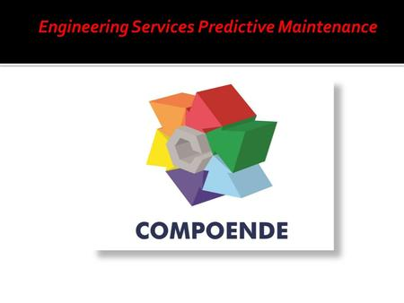 Engineering Services Predictive Maintenance. Página Web   Página Web