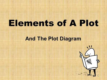 Elements of A Plot And The Plot Diagram. Plot (definition) Plot is the organized pattern or sequence of events that make up a story Every plot is made.