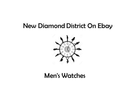 New Diamond District On Ebay Men's Watches. Audemars Piguet Royal Oak Offshore Navy Chronograph Watch With Custom 12.10ct Total Pave Set Diamonds.