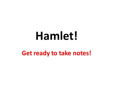 hamlet weakness Hamlet: admirable or weak in shakespeare's play, hamlet, the character of hamlet is often portrayed as a weak-minded individual, whose lack of purpose leads to seven unnecessary deaths this is a valid interpretation, b.