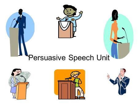 Persuasive Speech Unit Logical Fallacies Fallacy: A mistake in an argument that automatically invalidates it.