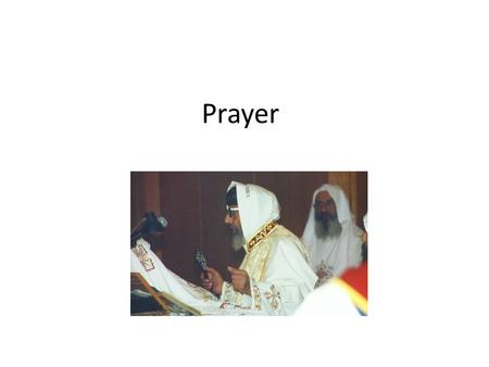 Methods of personal prayer in the