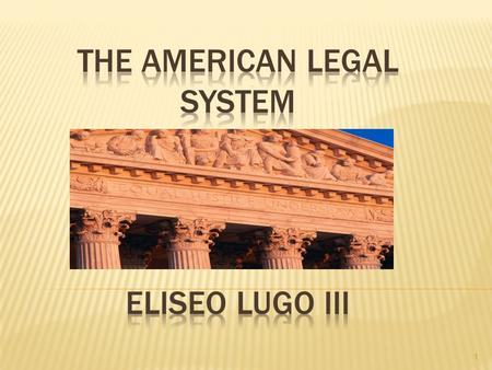 1. 2 Legislative Judicial Executive Creates Law Enforces Law Branches of Government Interprets Law Yell / The Law and Special Education, Second Edition.