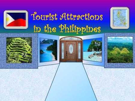 Tourist Attractions in the Philippines D D.