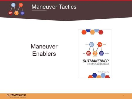 1 Maneuver Tactics Maneuver Enablers. 2 Maneuver Enablers Unlike attrition strategies, which identify competitive products and seek to match features.