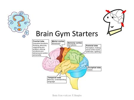Brain Gym Starters Brain Gym work out E Sharples.