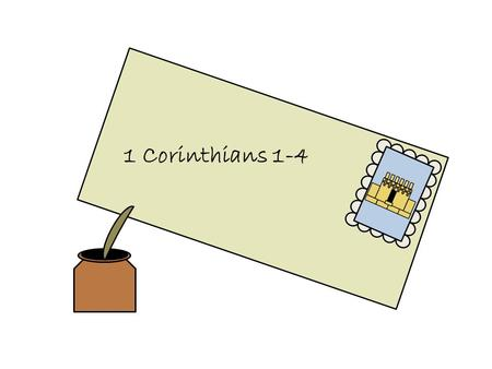 1 Corinthians 1-4. 1 Corinthians Paul is the author of 1 Corinthians He had written at least one other letter, unfortunately we have no record of the.