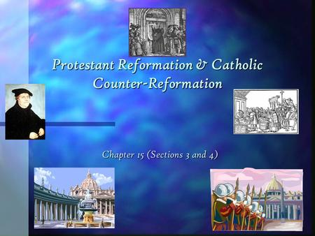 an analysis of the protestation reformation and the catholic counter reformation The zagreb cathedral on kaptol is a roman catholic institution and not only the tallest  protestant reformation, with  in the protestation at.