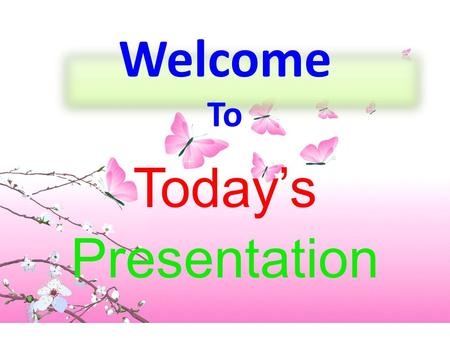 Welcome To Today's Presentation. This lesson is designed for SSC candidates.