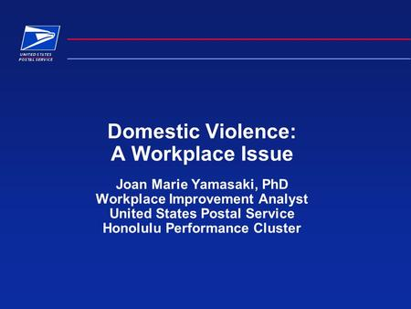 Domestic violence in the United States