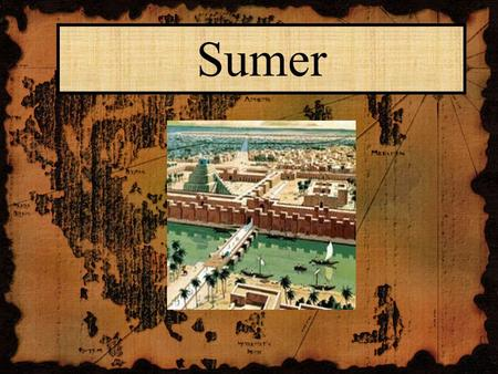 Sumer. Mesopotamia - The Land Between Two Rivers Mesopotamia was a place where many cities began to grow. As its name suggests, Mesopotamia was located.