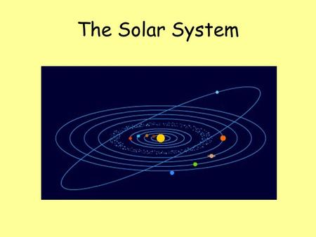 The Solar System. The Solar System is a collection of planets, moons and the stars they orbit. Our Solar System has nine planets that orbit the sun.