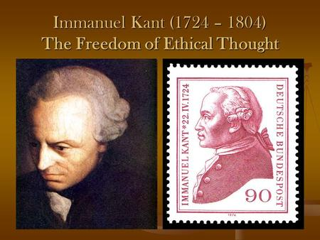 kants concept of freedom Kant on freedom, law, and happiness paul guyer florence r c murray professor in the humanities university of pennsylvania  an approach, the relationship among the concepts of freedom, rea-son, law, can be described as follows freedom of the will is the.