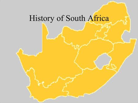 History of South Africa. Original in habitants The San (sahn) –Lived in small communities, hunting and gathering The Khoikhoi (koy koy) –Nomadic herders.