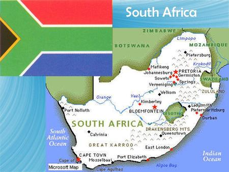 South Africa. Classification of Races in South Africa  African  Colored  Indian  White  African  Colored  Indian  White.