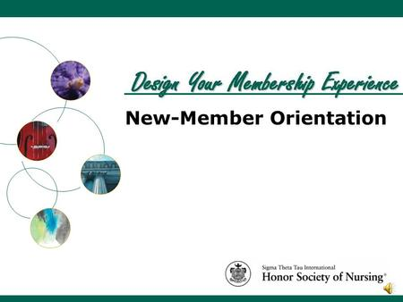 New-Member Orientation. Members Founders Crest and Key.