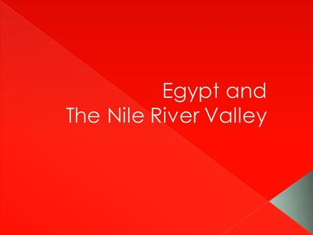  The Nile River flows northward 4,200 miles from the highlands of east-central Africa to the Mediterranean Sea › Longest river in the world › Egypt's.
