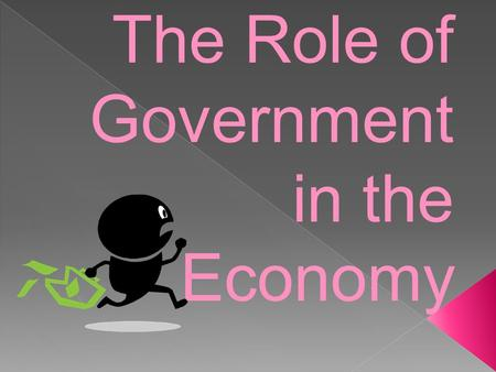The Role of Government in the Economy. I.How does the United States government promote & regulate marketplace competition? Enforcing antitrust legislation.