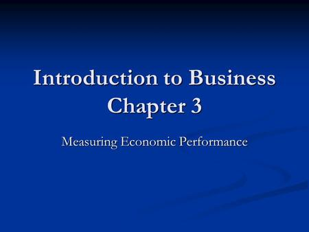 Introduction to business economics Coursework Sample