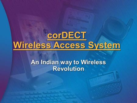 corDECT Wireless Access System