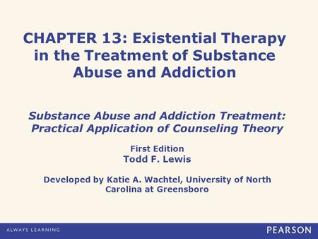 substance addictions and abuse counseling