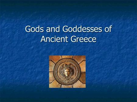 Gods and Goddesses of Ancient Greece. Kronos (Saturn) Head of Titans Head of Titans Agriculture Agriculture Father of Zeus Father of Zeus Consumed his.