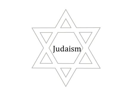 Judaism. Origin/Founder Canaan (Palestine) is the ancient home of the Hebrews or Jews The history of the religion is recorded in the Torah, their holy.