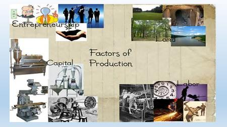 Friday, January 8, 2016 Objective: Students will be able to describe how societies answer basic economic questions and the influence of factors of production.