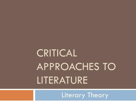 approaches to literature [pdf]free literature approaches to fiction poetry and drama download book literature approaches to fiction poetry and dramapdf literature - wikipedia.