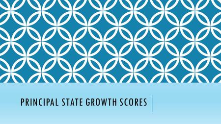 PRINCIPAL STATE GROWTH SCORES. 2014-15 50/50 2015-16 Principal Performance/Visit= 50 Student Performance=50.