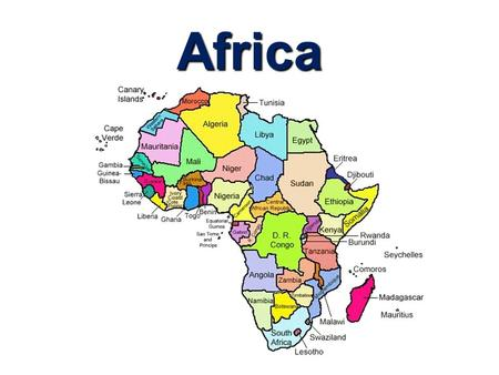 Africa. True or False? Africa is bigger than Europe, China, India, and the US combines. ___ All living humans can be traced back to Africa. ___ There.