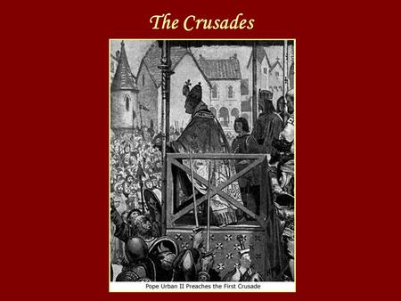 The Crusades Essential Questions 1.How did the Eastern Roman Empire become the Byzantine Empire? 2.What were the purposes of the crusades? 3.What were.